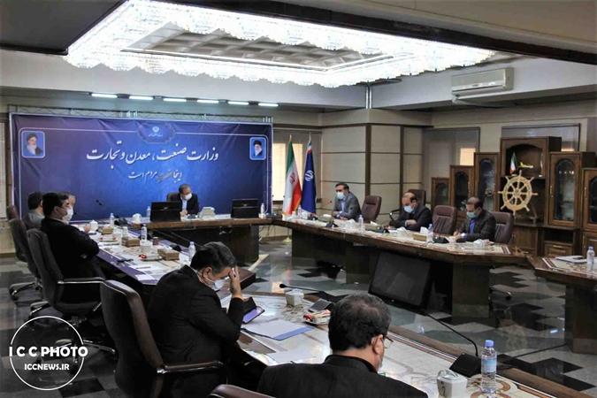 گزارش تصویری نشست مشترک وزیر صمت با رئیس اتاق تعاون
